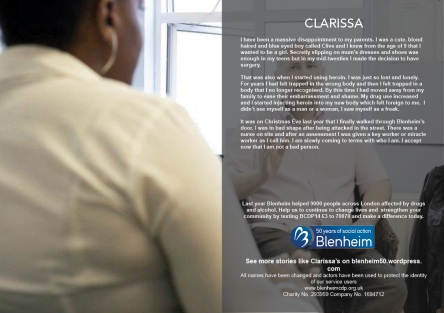 Clarissa's story