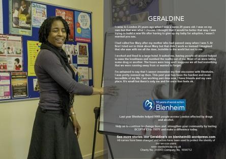 Geraldine's story