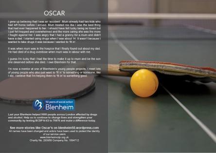 Oscar's story